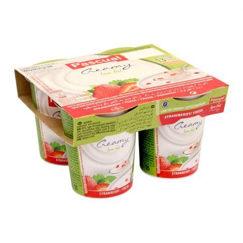 Pascual Strawberries Low Fat Fruit Yogurt, 500g