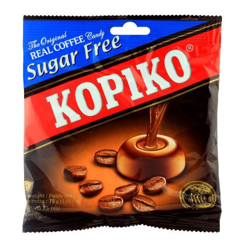Kopiko Sugar Free Coffee Candy Pouch 75g