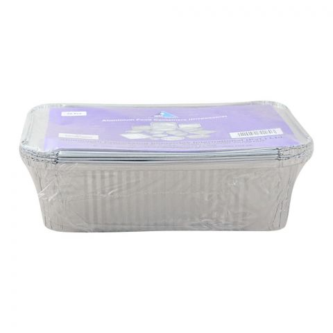 Apiil Aluminium Food Container, 240x155x70mm, 1500ml, F-7, 6-Pack