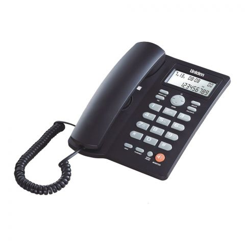 Uniden Caller ID One Way Speakerphone, Black, AS7413