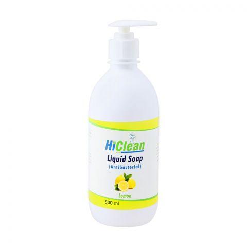 Hiclean Lemon Antibacterial Liquid Soap, 500ml