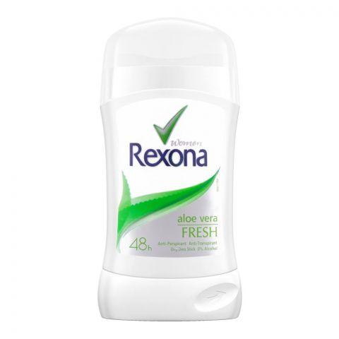 Rexona Women 48H Aloe Vera Fresh Anti-Perspirant Deodorant, For Women, 40ml