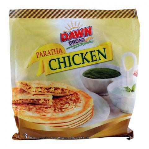 Dawn Chicken Paratha, 3 Pieces, 330g