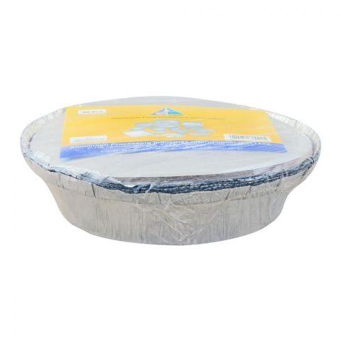 Apiil Aluminium Food Container, 182x144x47, 650ml, P-3, 6-Pack