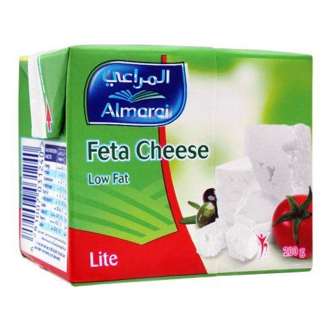 Almarai Feta Cheese, Low Fat, Lite, 200g