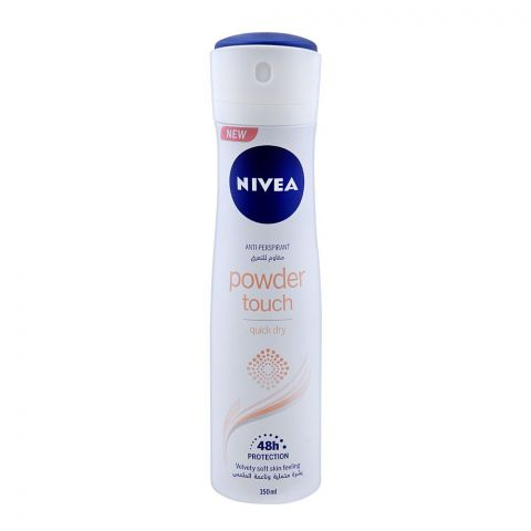 Nivea 48H Power Touch Anti-Perspirant Deodorant Spray, Quick Dry