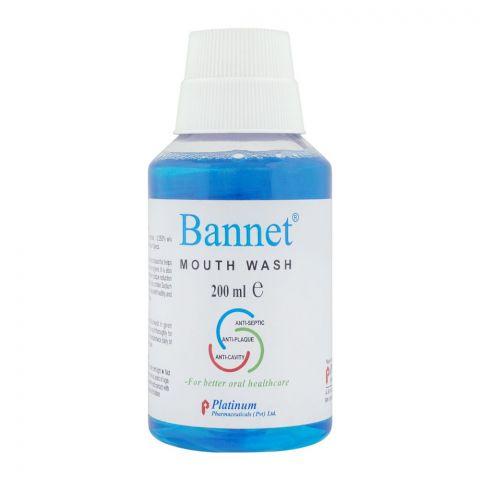 Bannet Mouthwash, 200ml