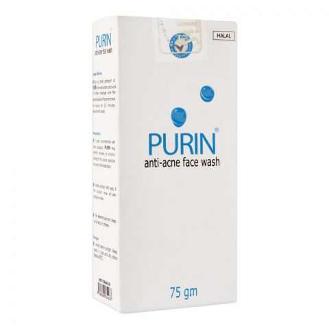 Purin Anti-Acne Face Wash, 75g