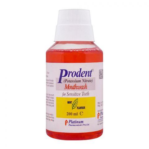 Prodent Mouthwash, For Sensitive Teeth, 200ml