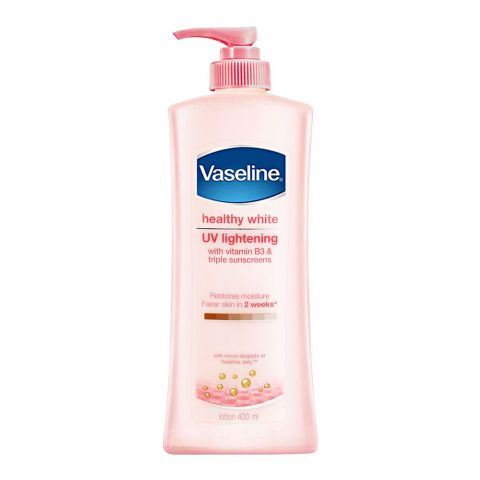 Vaseline Healthy White UV Lightening Sunscreen Lotion 400ml