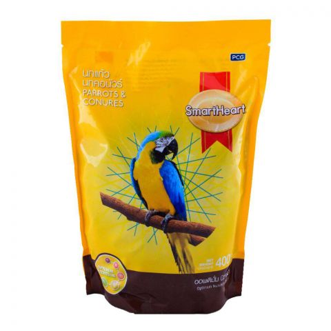 SmartHeart Parrots & Conures Bid Food 400g