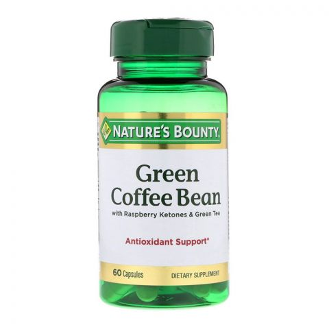 Nature's Bounty Green Coffee Bean, 60 Capsules