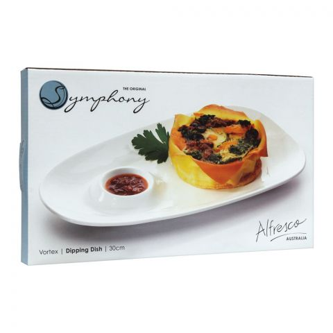 Symphony Vortex Dipping Dish, 11.8 Inches, SY-4326