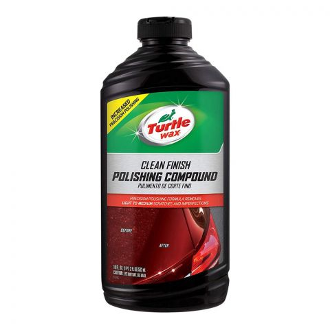 Turtle Wax Clean Finish Polishing Compound, 532ml, T417