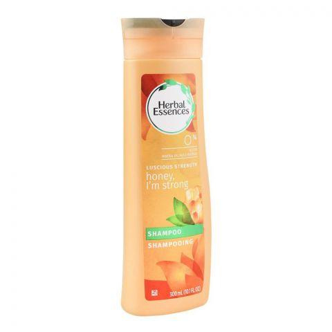 Herbal Essences Luscious Strength Honey I'M Strong Shampoo, Paraben Free, 300ml