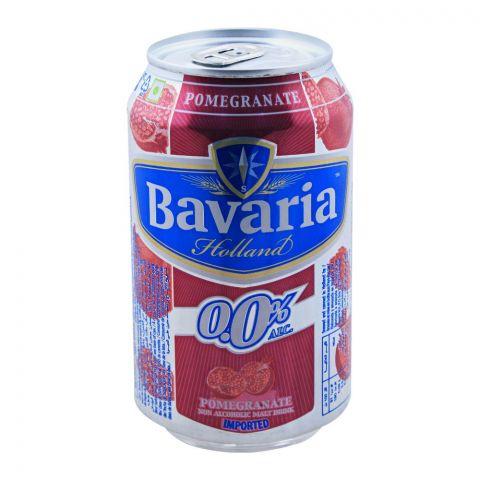Bavaria Pomegranate Premium Non Alcoholic Malt Drink, Can, 330ml