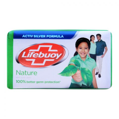 Lifebuoy Nature With Activ Silver Soap 146g