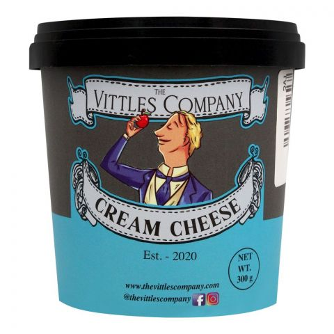 The Vittles Company Cream Cheese, 300g