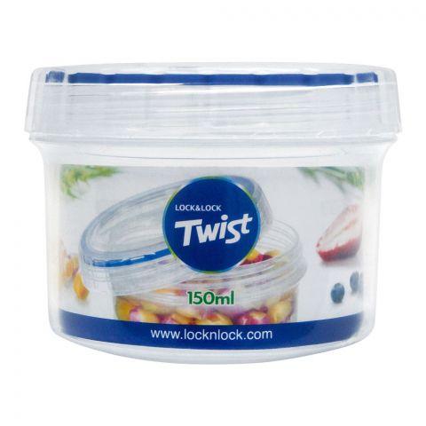 Lock & Lock Air Tight Twist Container, 150ml, LLLLS111