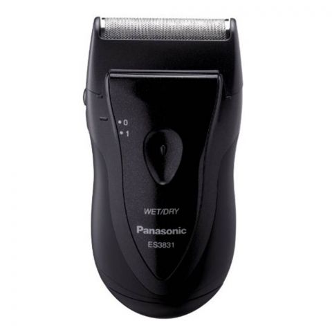 Panasonic Wet/Dry Washable Electric Travel Shaver ES3831-K