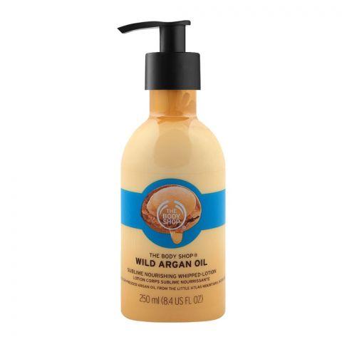 The Body Shop Wild Argan Oil  Nourishing Whipped Lotion, 250ml