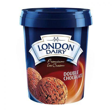 London Dairy Double Chocolate Ice Cream, 500ml