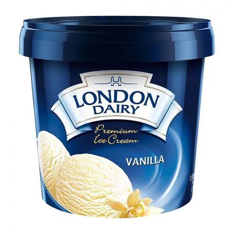London Dairy Vanilla Ice Cream, 1 Liter
