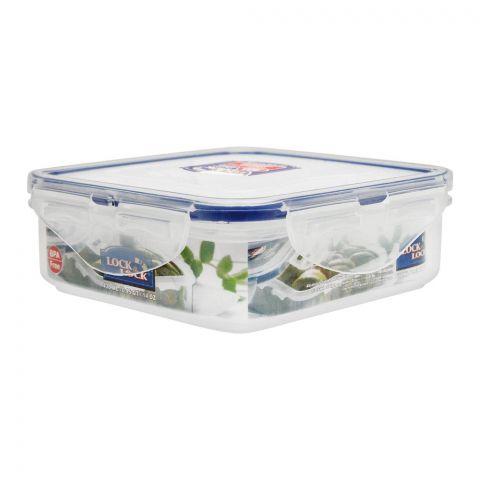 Lock & Lock Air Tight Square Short Food Container, 430ml, LLHPL852