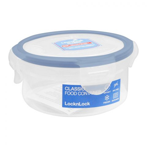 Lock & Lock Round Food Storage Container, 300ml, LLHPL932