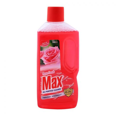 Max All Purpose Cleaner, Rose, 500ml