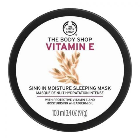 The Body Shop Vitamin-E Sink In Moisture Sleeping Mask, 100ml