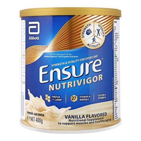 Ensure NutrivigorVanilla 400gm