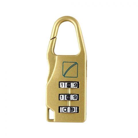 Travel Blue Combination Deluxe Lock, 034