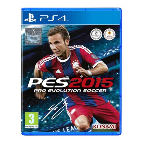 PES 2015 - PlayStation 4 (PS4)