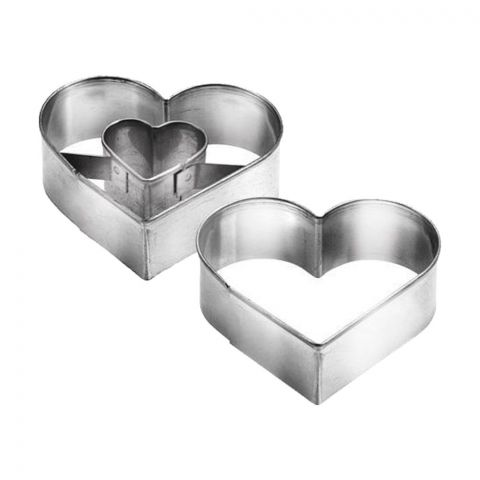 Tescoma Delicia Heart Shaped Cookie Cutters 2-Pack - 631190