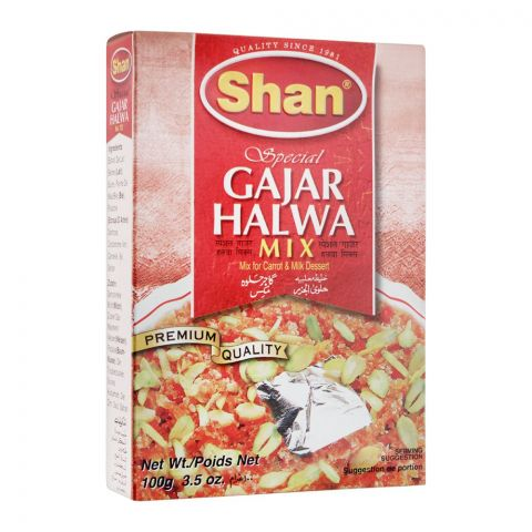 Shan Special Gajar Halwa Mix, 100g