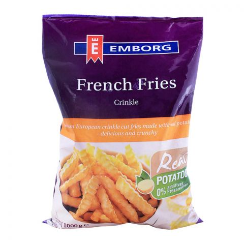 Emborg French Fries Crinkle 1000g