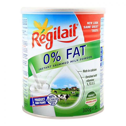 Regilait 0%Fat Milk Powder 300gm