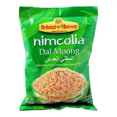 Rehmat-e-Shrereen Nimcolia Daal Moong, 200g