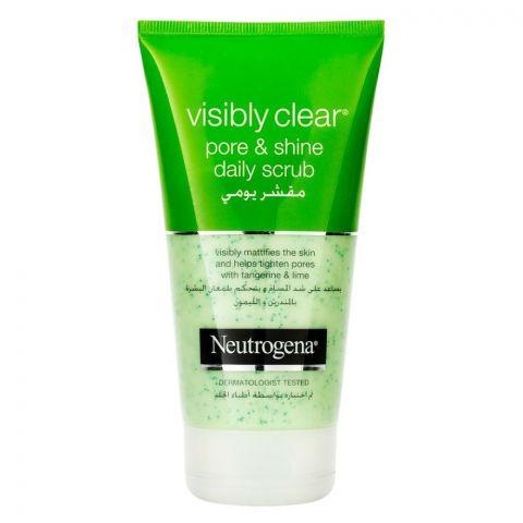 Neutrogena Visibly Clear Pore & Shine Scrub 150ml
