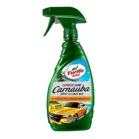 Turtle Wax Carnauba Express Shine Spray Cleaner Wax, 473ml, T136