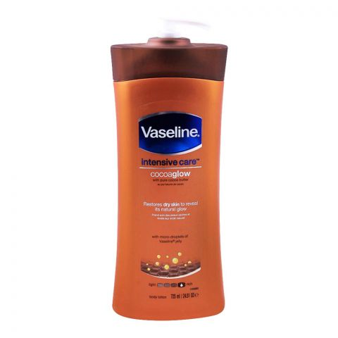 Vaseline Intensive Care Cocoa Glow Body Lotion, 725ml