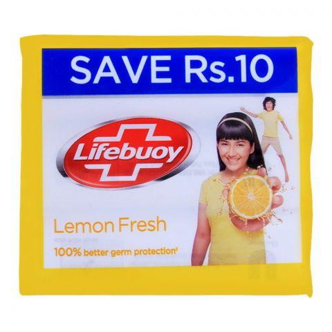 Lifebuoy Lemon Fresh With Activ Silver Soap, Value Pack 3x112g