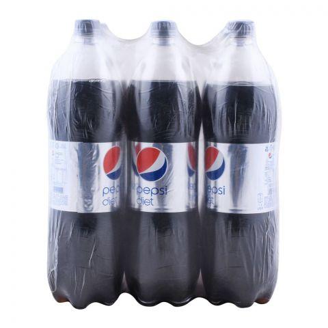 Pepsi Diet 1.5 Liters, 6 Pieces