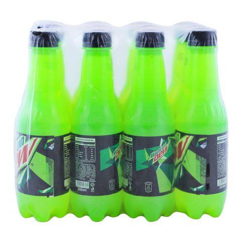 Mountain Dew Pet Bottle 300ml, 12 Pieces