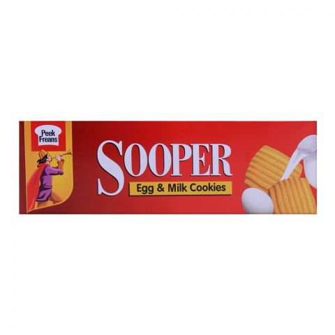 Peek Freans Sooper Egg & Milk Biscuits (Family Pack) 112g