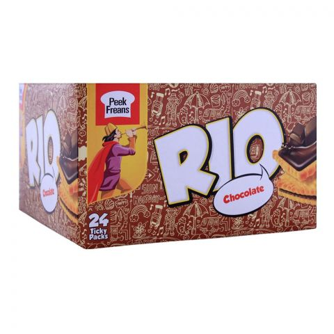 Peek Freans Rio Chocolate Biscuit, 24 Ticky Packs