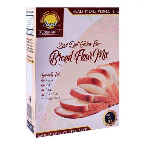 Syed Flour Mills Diet Bread Flour Mix, Wheat & Gluten Free, 475g
