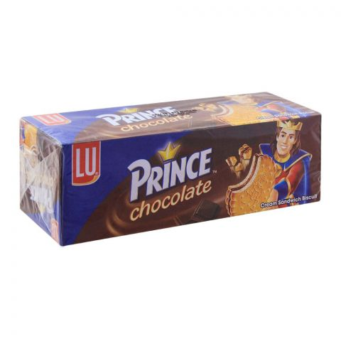 LU Prince Chocolate Cream Sandwich Biscuits, 95g