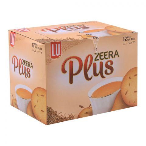 LU Zeera Plus Biscuits, 12 Mini Half Rolls